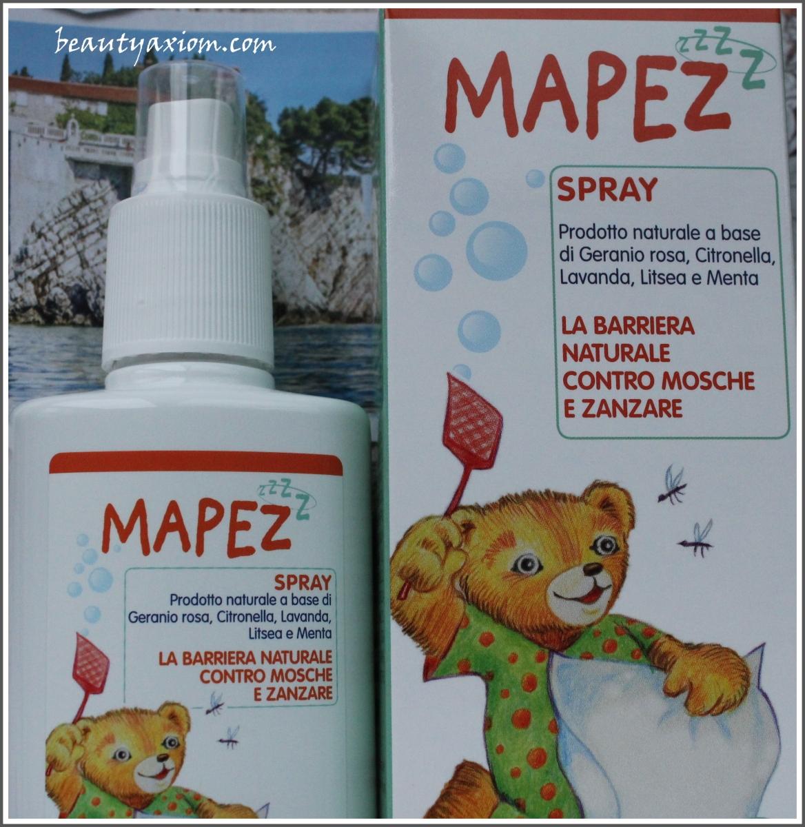MAPEZ SPREJ za decu i odrasle ili kako se zaštititi od komaraca