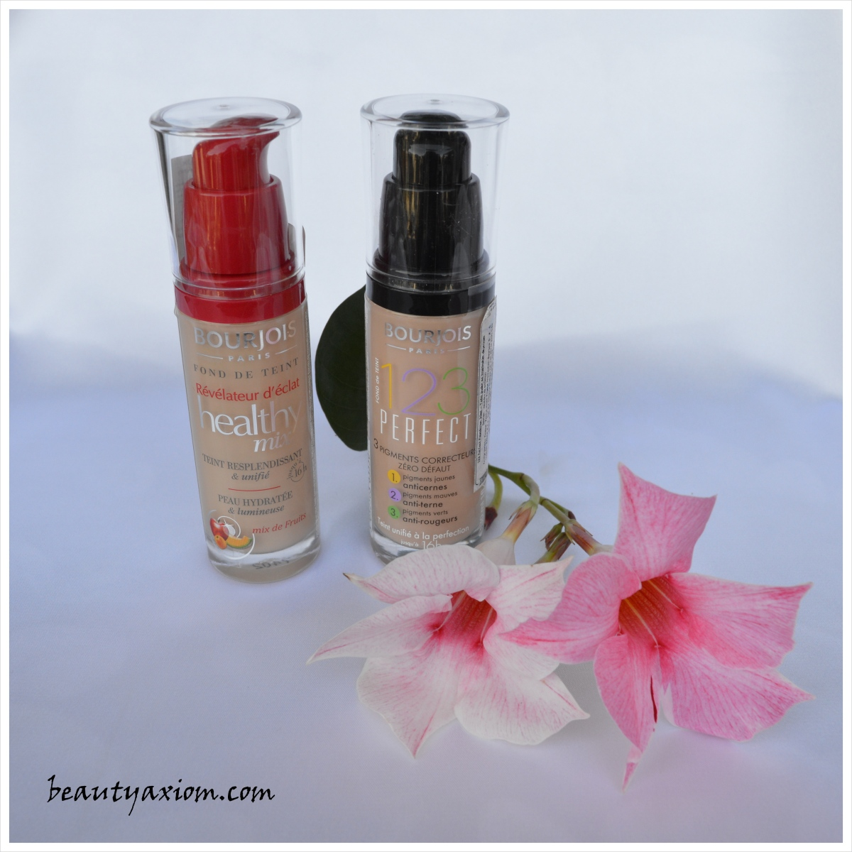 MAKEUP DUEL: BOURJOIS HEALTHY MIX I 123 PERFECT FOUNDATION