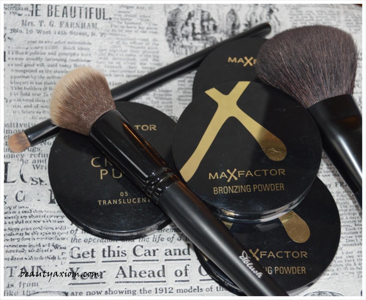 MAX FACTOR CREME PUFF i BRONZER i kako jednostavno uraditi contour i highlight