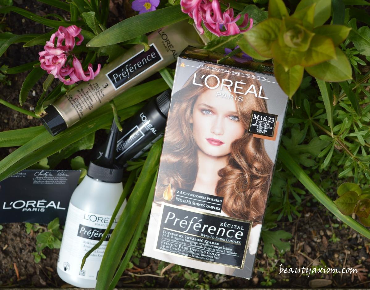 L'OREAL PREFERENCE boja za kosu